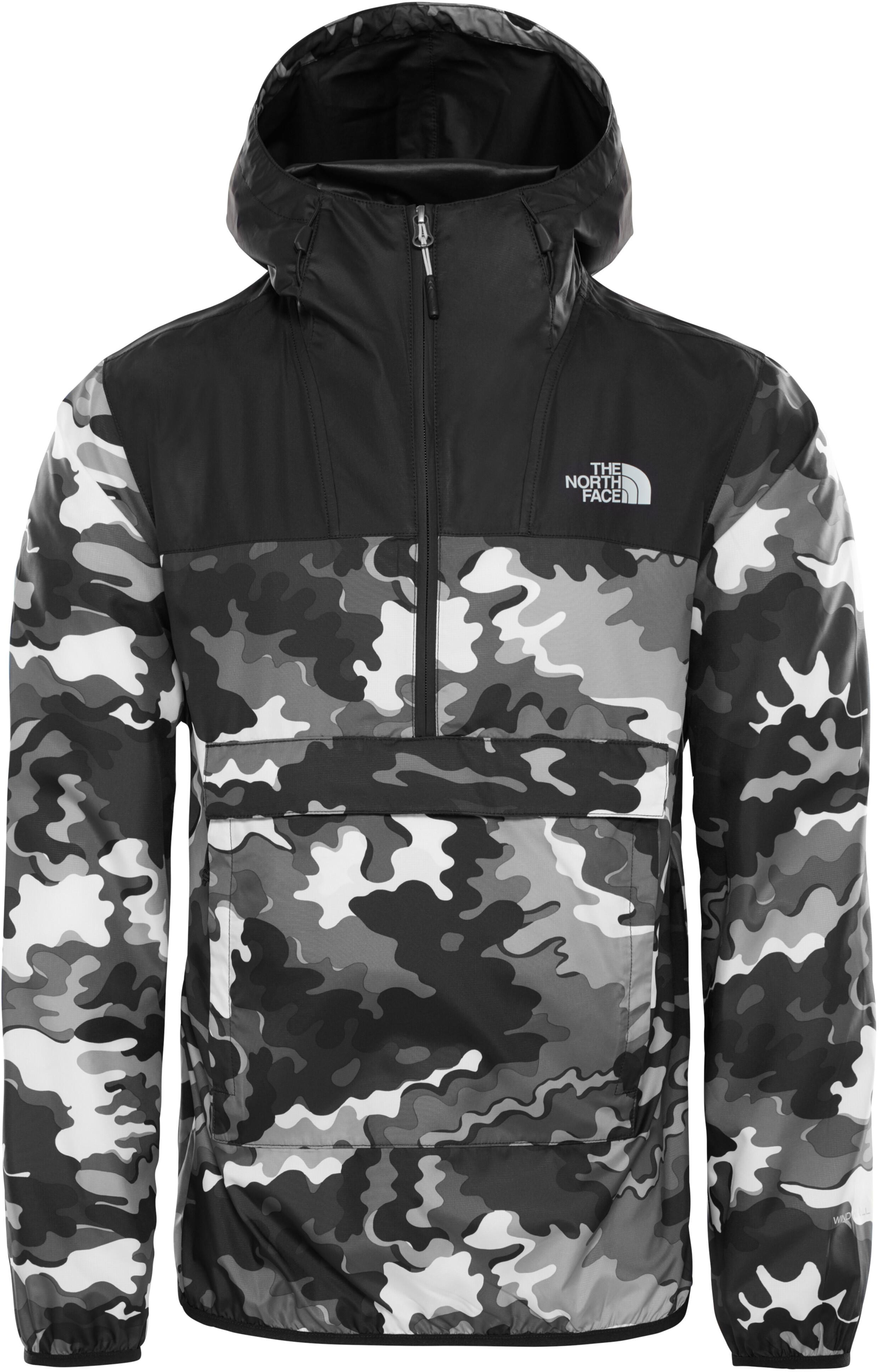 d82349513 The North Face Novelty Fanorak Jacket Men, tnf black psychdelic print/tnf  black